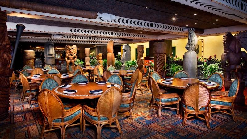 Disney Orlando para adolescentes: restaurante Ohana