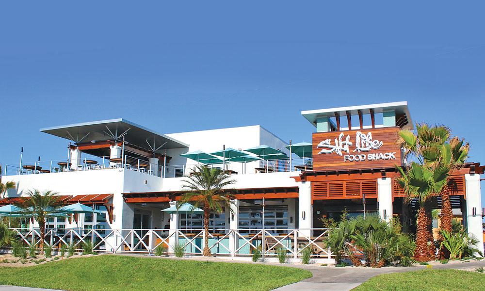 Restaurantes em Saint Augustine: fachada restaurante Salt Life Food Shack