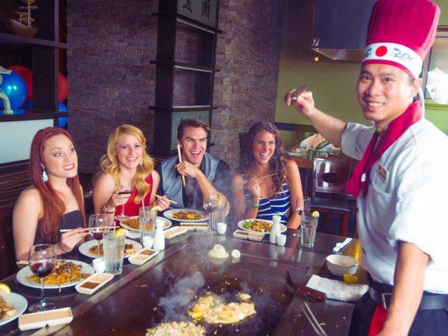 Restaurantes japoneses em Orlando