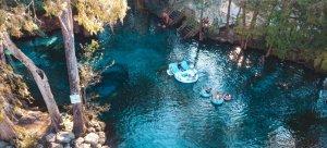 Ginnie Springs próximo a Orlando: rio