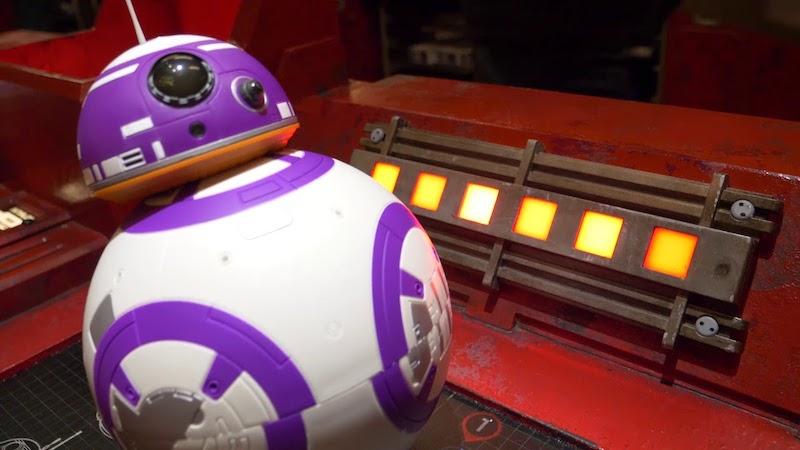 Droid Depot na Star Wars Land da Disney Orlando: robô