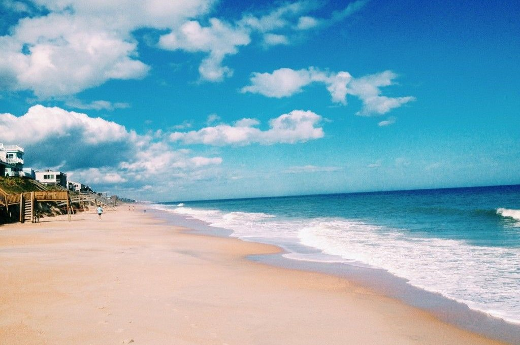 Pontos turísticos em Saint Augustine: praia Saint Augustine Beach