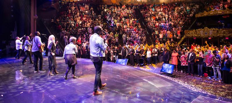 Natal no Holy Land Experience em Orlando: Church of All Nations - Igreja de Todas as Nações