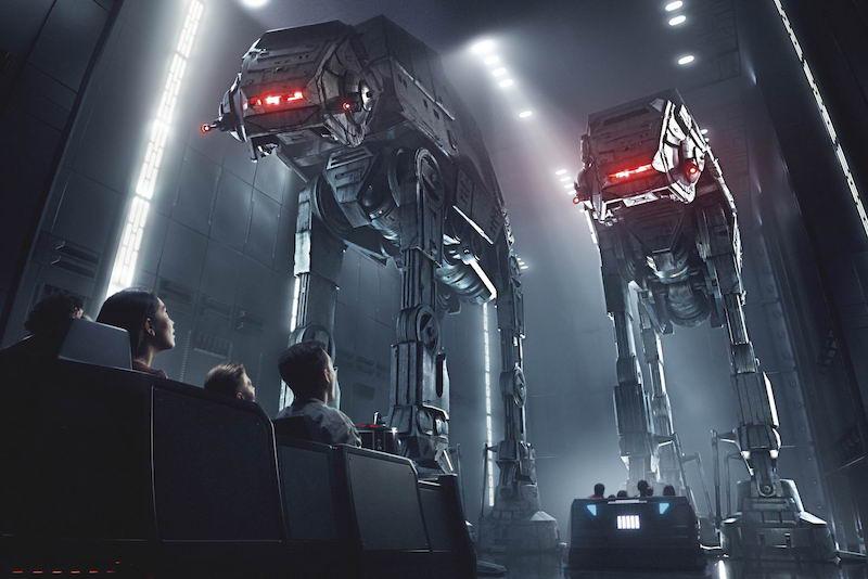 Fila virtual da Star Wars: Rise of the Resistance na Disney Orlando