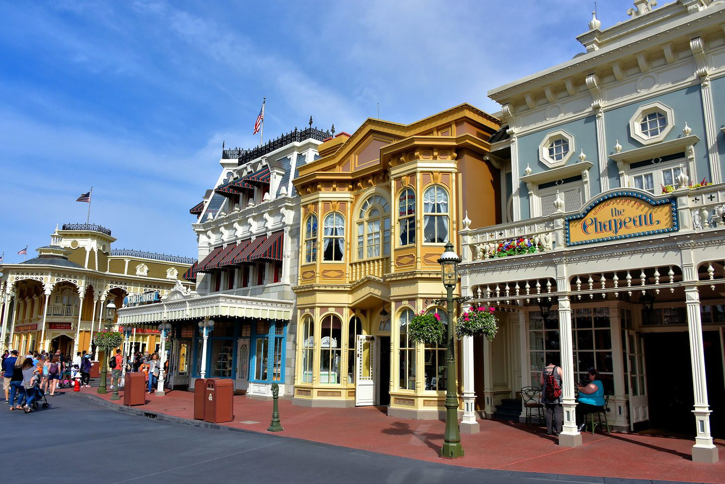 Main Street USA na Disney Orlando