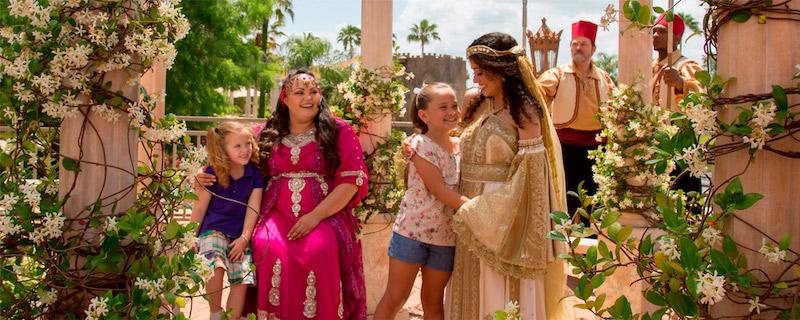 Natal no Holy Land Experience em Orlando: visitantes