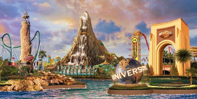 Atrações Universal Orlando Resort