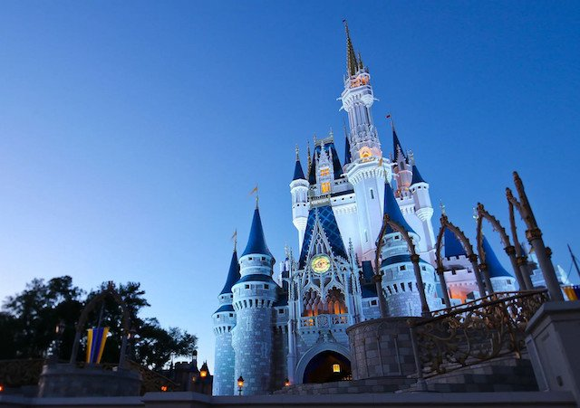 Castelo da Cinderela no Disney's Magic Kingdom em Orlando