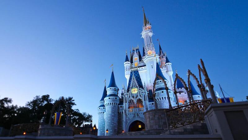 Castelo da Cinderela no Disney's Magic Kingdom em Orlando