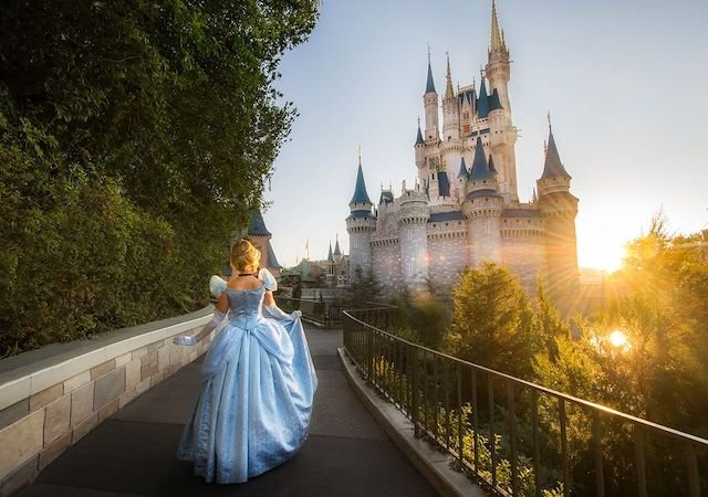 Atrações de Cinderela no Early Morning Magic da Disney Orlando: Cinderela no parque Magic Kingdom