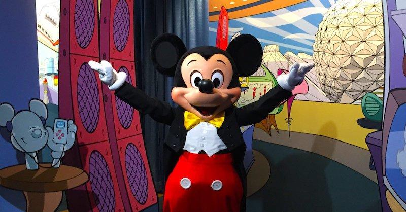 Parque Epcot da Disney Orlando: encontro com o Mickey