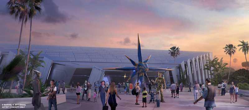 Novidades no Epcot da Disney Orlando: Guardians of the Galaxy: Cosmic Rewind na World Discovery