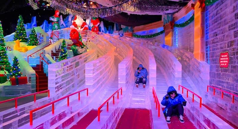 Natal em Orlando em 2019: ICE! no hotel Gaylord Palms Resort