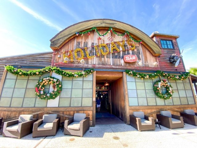 Jock Lindsey's Holiday Bar na Disney Springs em Orlando