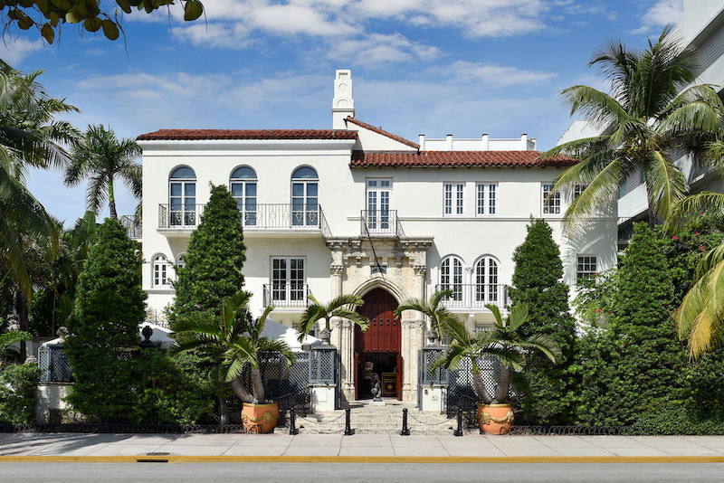 Art Deco District em Miami: mansão de Gianni Versace
