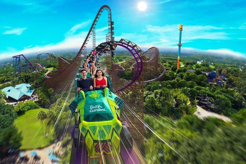Montanha-russa Iron Gwazi no Busch Gardens - 2020 | Dicas imperdíveis!