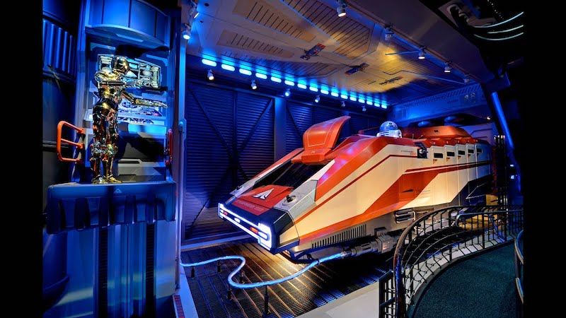 Star Tours no parque Hollywood Studios da Disney Orlando