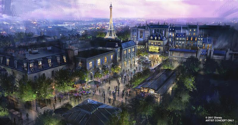 Novidades no Epcot da Disney Orlando: Pavilhão da França na World Showcase