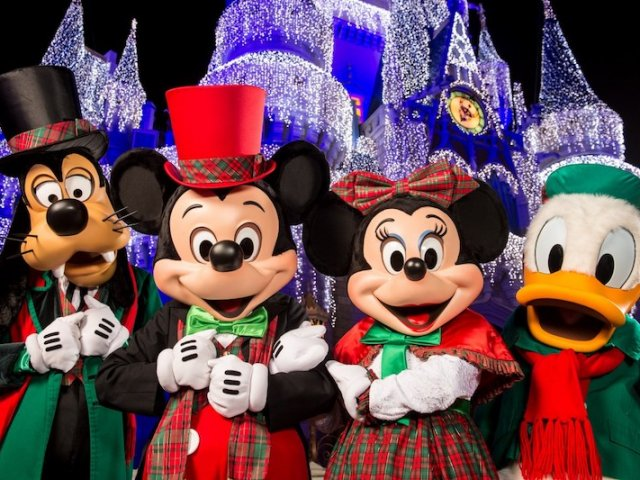Mickey's Very Merry Christmas Party na Disney Orlando em 2019