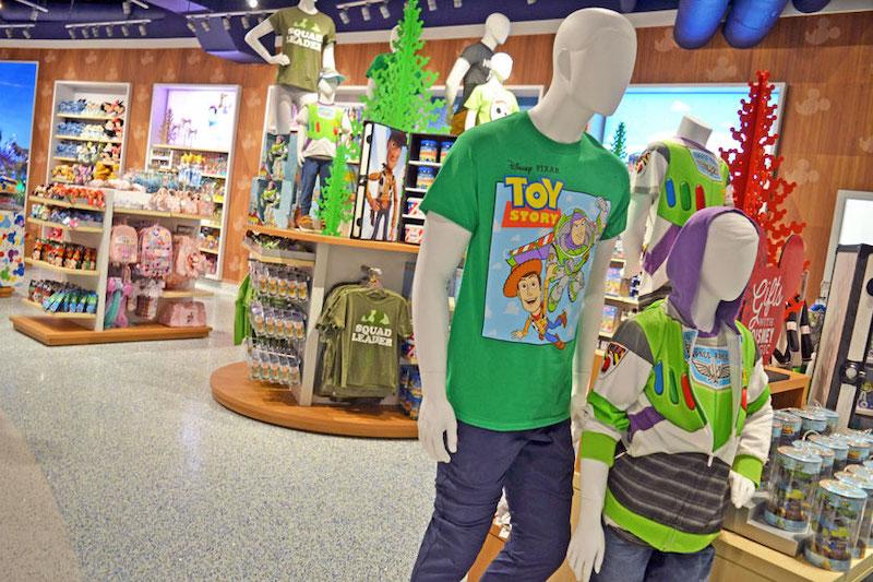 Loja Magic of Disney no Aeroporto Internacional de Orlando: produtos