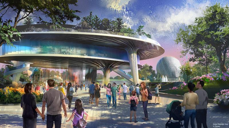 Novidades no Epcot da Disney Orlando: rooftop na World Celebration