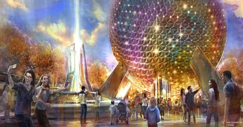 Novidades no Epcot da Disney Orlando: Spaceship Earth na World Celebration