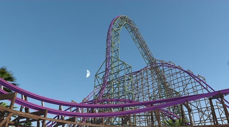 Parque Busch Gardens em Tampa: montanha-russa Iron Gwazi