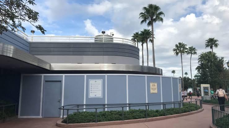 Mickey Shorts Theater no Hollywood Studios da Disney Orlando: construção