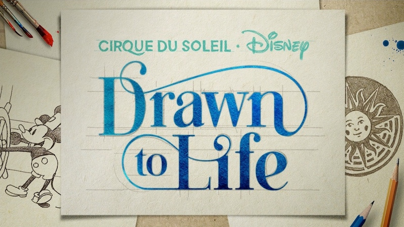 Drawn to Life do Cirque du Soleil na Disney Orlando