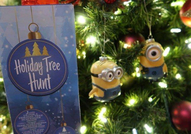 Caça ao tesouro de Natal na Universal Orlando