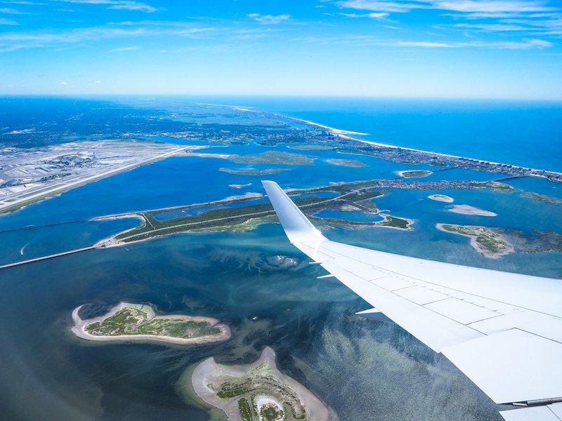 Qual o tempo de viagem de avião até Miami