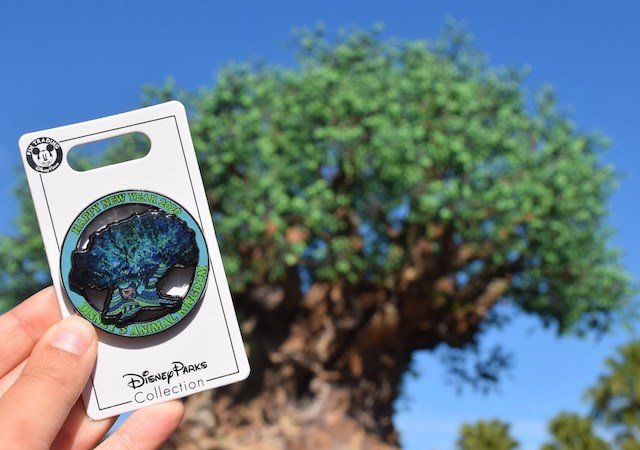 Pins de Ano Novo no Animal Kingdom da Disney Orlando