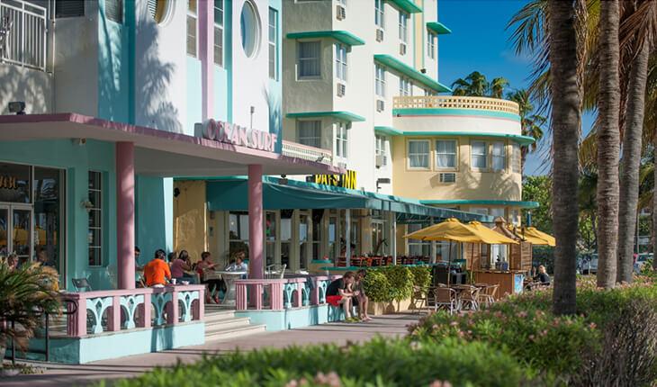10 traços do Art Deco District em Miami: prédios