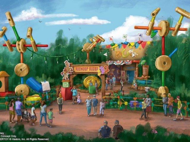Restaurante Roundup Rodeo BBQ no Hollywood Studios da Disney Orlando