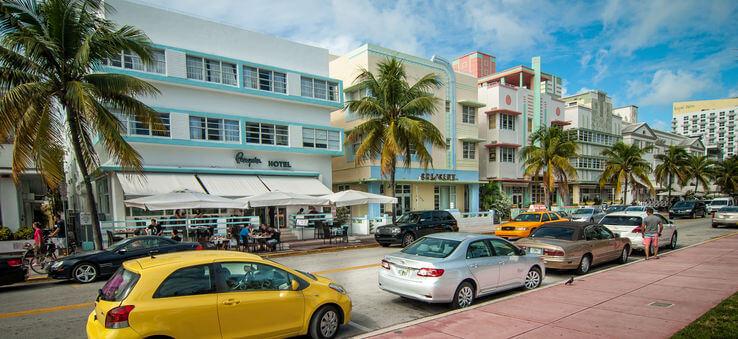 10 traços do Art Deco District em Miami