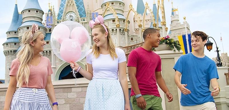 Jovens na Disney