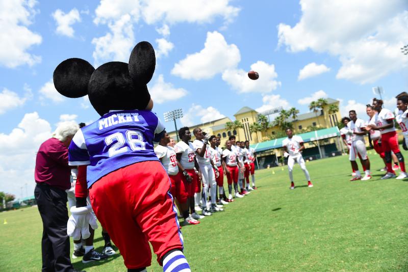 Evento NFL Pro Bowl Week 2020 na Disney Orlando: atividades