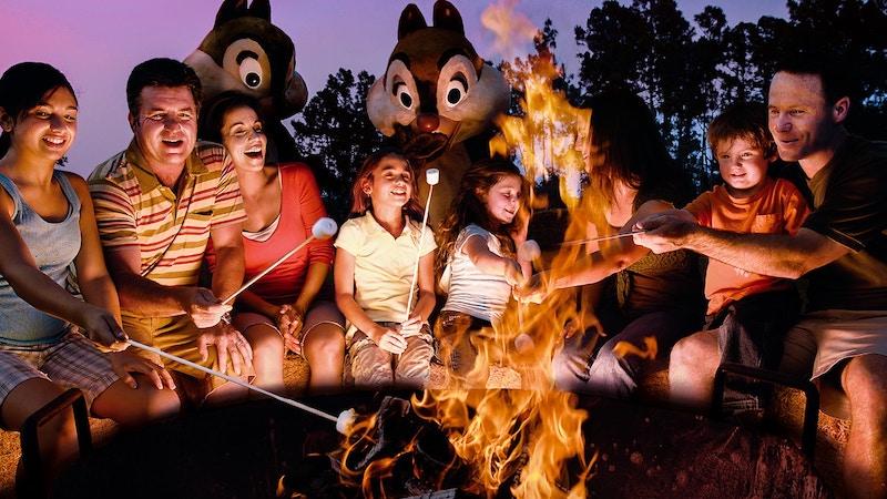 Coisas para fazer de graça na Disney Orlando: Chip'n Dale's Campfire Sing-a-long