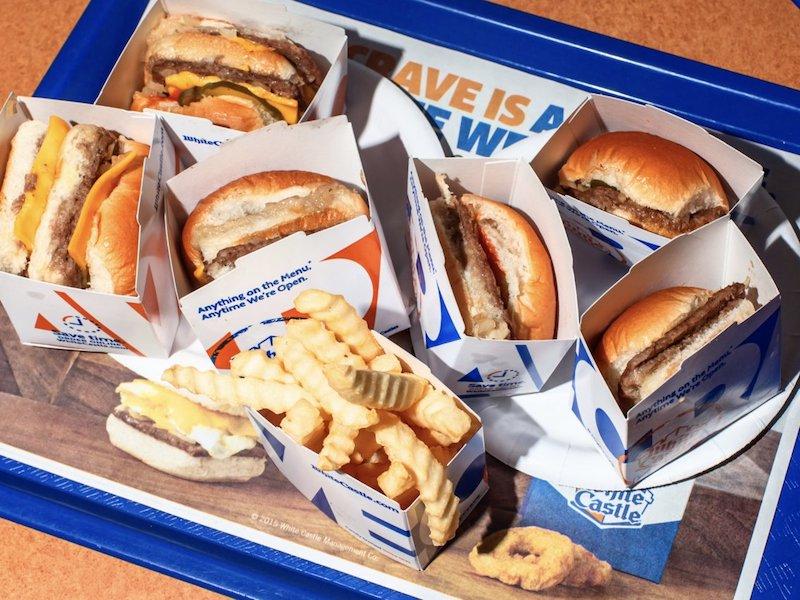 Restaurante White Castle em Orlando: comida