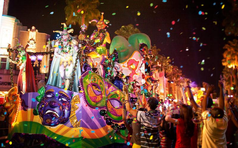 Mardi Gras na Universal Orlando em 2020: Mardi Gras Parade