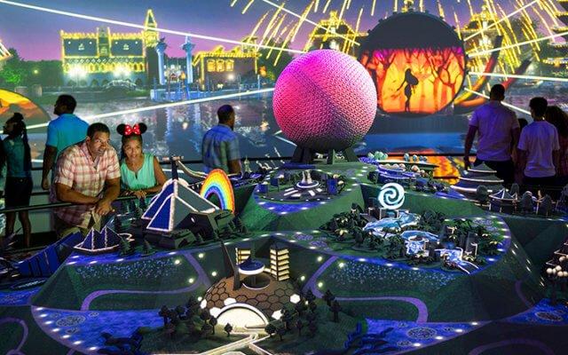 Epcot Experience no parque Epcot da Disney Orlando