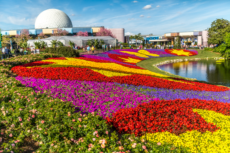 Epcot International Flower & Garden Festival na Disney Orlando