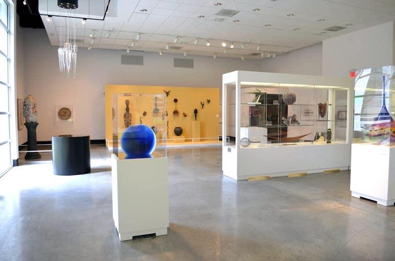 Lowe Art Museum em Miami: interior do museu