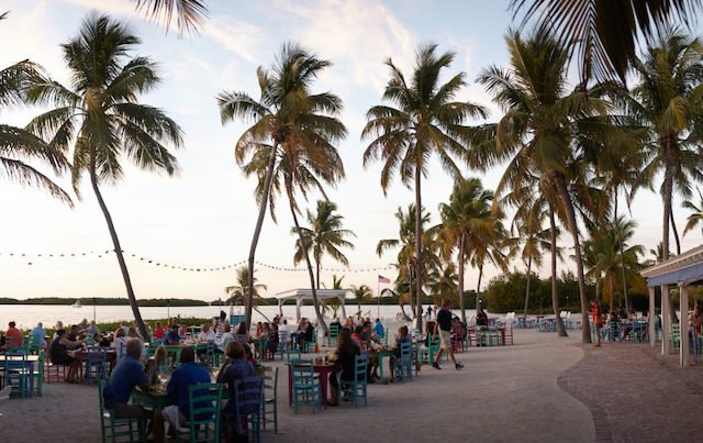 7 restaurantes em Florida Keys: restaurante Morada Bay Beach Cafe