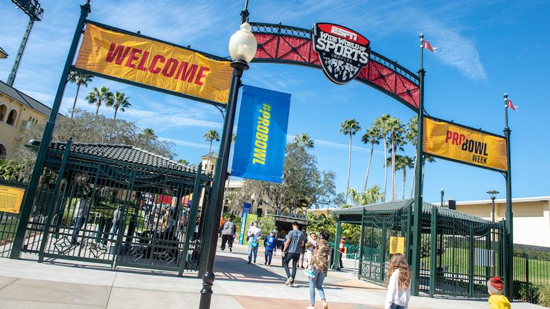 Evento NFL Pro Bowl Week 2020 na Disney Orlando