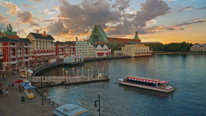 Coisas para fazer de graça na Disney Orlando: passeio de barco