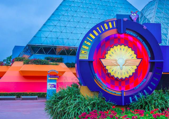 Aproveite mais tempo no Pavilhão Imagination no Epcot da Disney Orlando