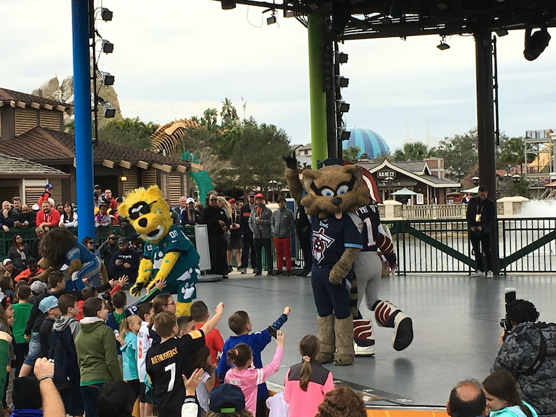 Evento NFL Pro Bowl Week 2020 na Disney Orlando: Pro Bowl Pep Rally