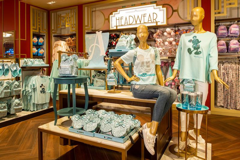 Loja Mickey's of Hollywood na Disney Orlando: coleção Arandelle Aqua