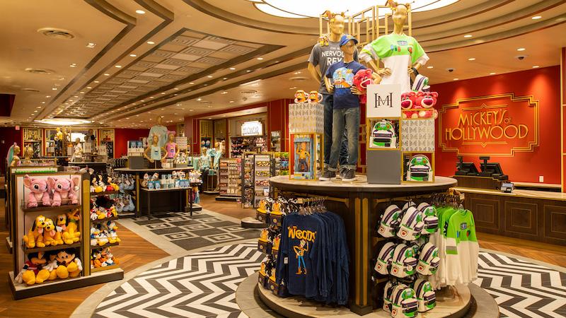 Loja Mickey's of Hollywood na Disney Orlando